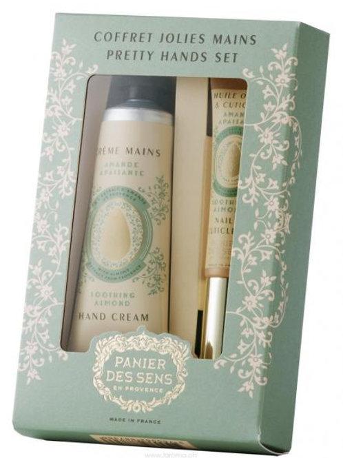 Panier des Sens Mandel Manicure-Duo Geschenkset
