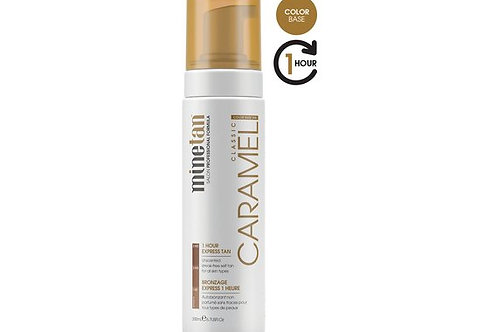 MINETAN Self Tan Foam Caramel 200 ml