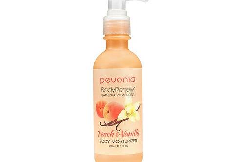 PEVONIA BodyRenew Moisturizer Peach/Vanilla 180 ml