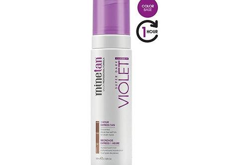 MINETAN Self Tan Foam Violet 200 ml