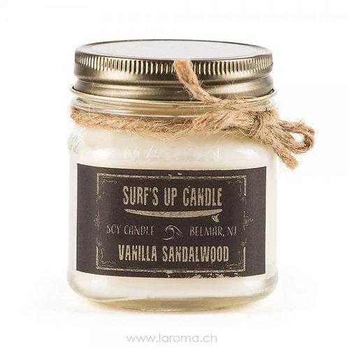 Vanilla Sandalwood Surf's up Candle 8oz Sojawachs