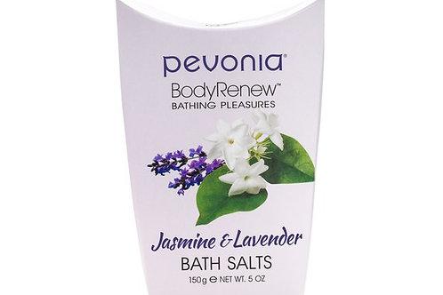 PEVONIA BodyRenew Bath Salts Jasmine/Lavender 150 g