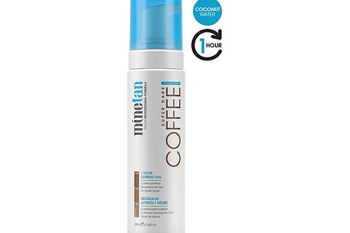MINETAN Self Tan Foam Coffee Coconut Water 200 ml