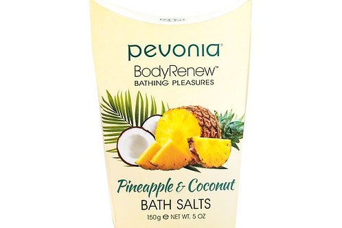 PEVONIA BodyRenew Bath Salts Pineapple/Coconut 150 g