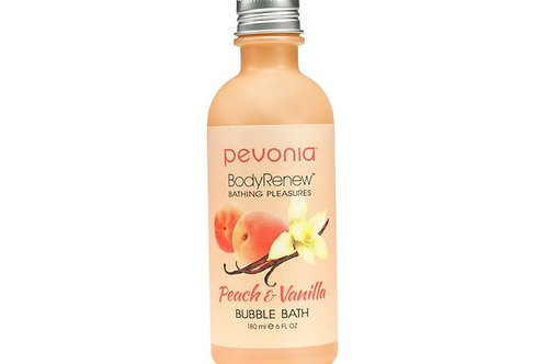 PEVONIA BodyRenew Bubble Bath Peach/Vanilla 180 ml