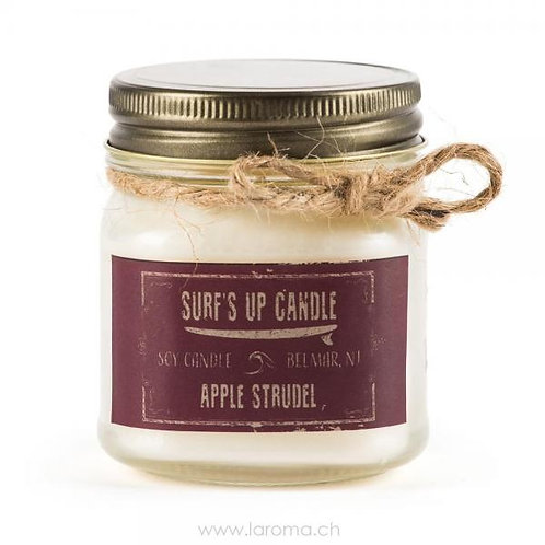 Apple Strudel Surf's up Candle 8oz Sojawachs