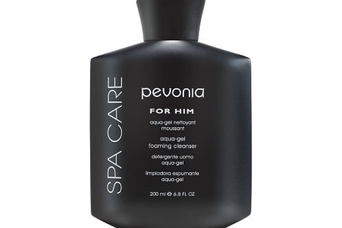 PEVONIA Men's Aqua Gel Foam Cleanser 200 ml