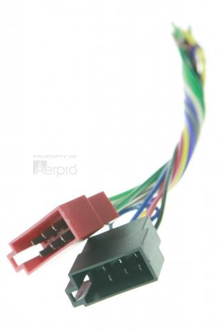 Male iso to bare wire - universal harness
