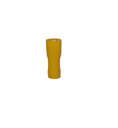 Spade Insulated Female Terminal Yellow