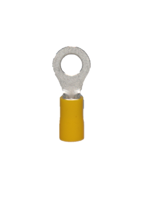 Ring Pre-Insulated Terminal Yellow