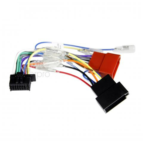 16-Pin iso harness to suit selected kenwood headunits