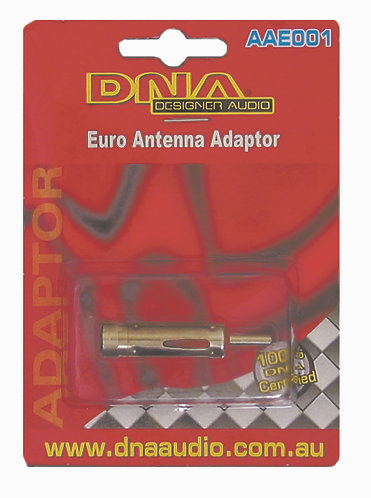 Standard Male Antenna Plug To Female European Socket Antenna Adaptor