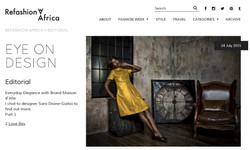 Refashion Africa interview