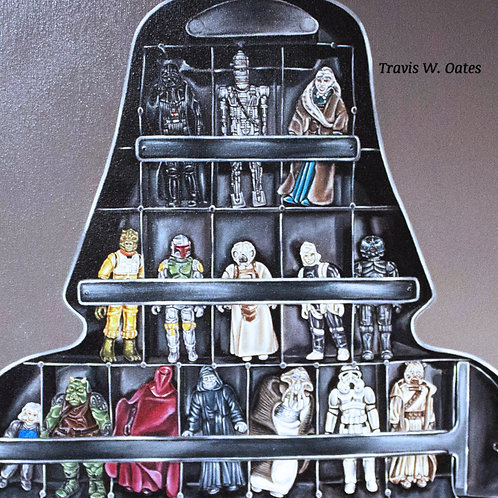 1980 Kenner Darth Vader Carrying Case - Travis W. Oates