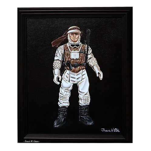 1980 Kenner Luke Skywalker (Hoth Battle Gear)