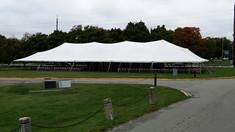 Pole Tents with Quarter Poles