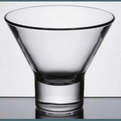 Stemless Martini 8 oz.