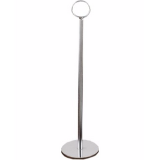 Number Stand Stainless Steel