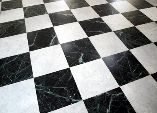 Black and White Marble Dance Floor
