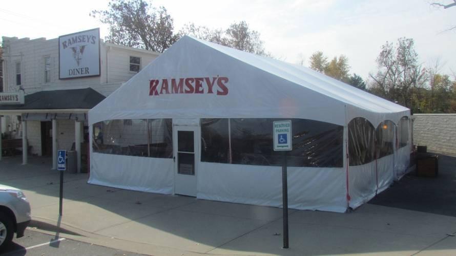 Gable End Tents