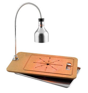 Portable Carving Station with Drip Pan