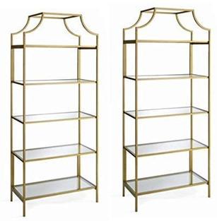 Gold Book Shelf