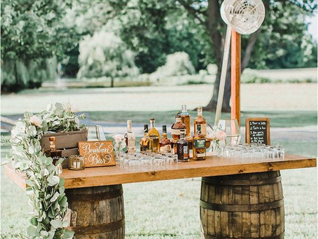 Three Different Ways to Incorporate Bourbon Barrels in Your Kentucky Wedding