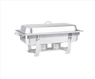 Chafer Kit 8 qt Stainless Steel