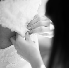 Ajustements de la robe