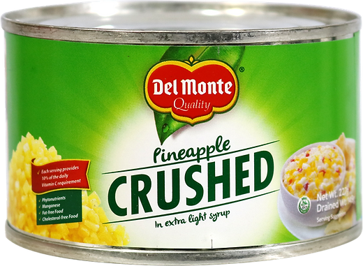 Del Monte Crushed Pineapple,