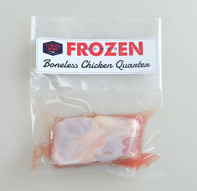 Boneless Chicken Leg Quarter 250g