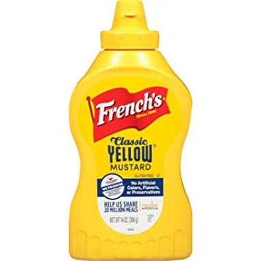 French Yellow Mustard