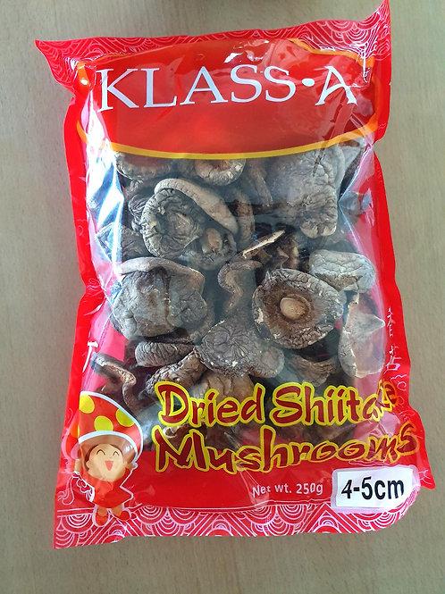 Dried Shitake Mushrooms, 250g