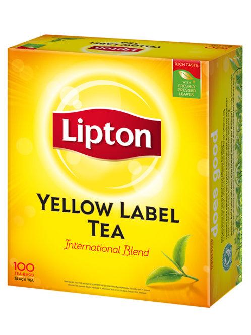 Lipton Yellow Label Tea Bags 100s