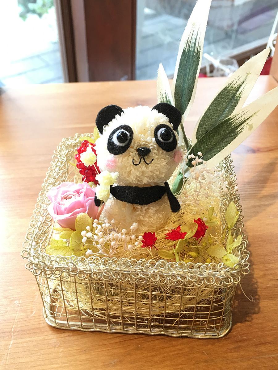 アニマルフラワー お礼ギフト パンダ