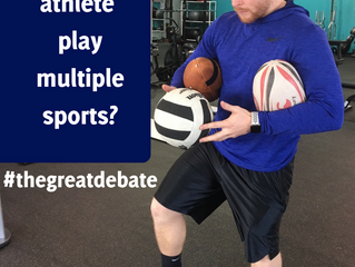 Should My Athlete Play Multiple Sports? Why?
