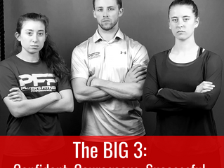 The BIG 3: Confident, Courageous, Successful