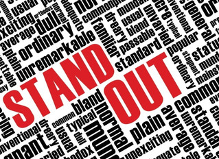 Choose to Stand Out if you want to be Outstanding