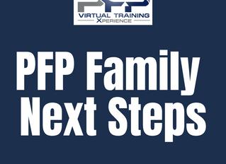 PFP Family Next Steps