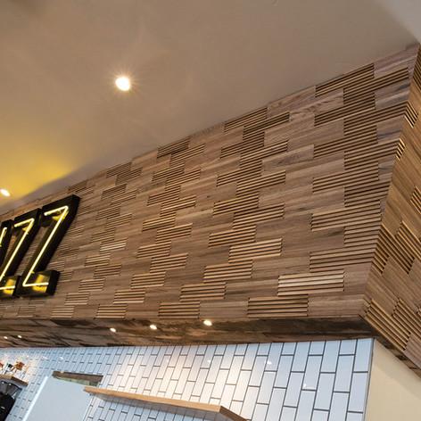 Oak 3d wood tiles - tridimensional