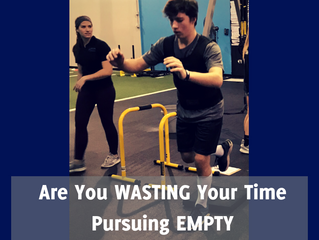 Wasting Time Pursuing Empty Accomplishment
