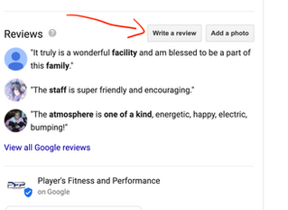 Player's Fitness and Performance Google Review Giveaway!