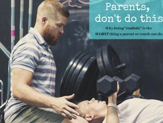Parent, Don't Do This
