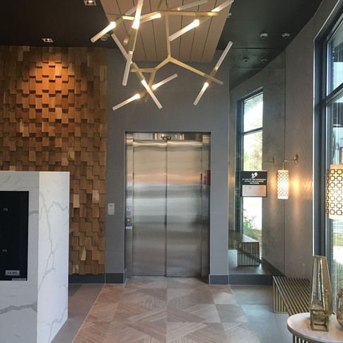 Wall Cladding Feature