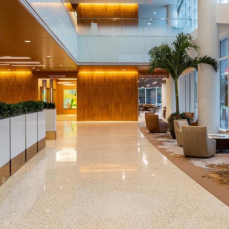 Mayo Clinic Wood lobby