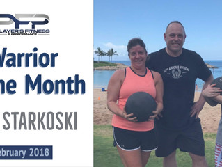 February Warrior of the Month - Tom Starkoski