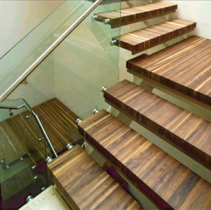 STAIR TREADS & TABLE SURFACES