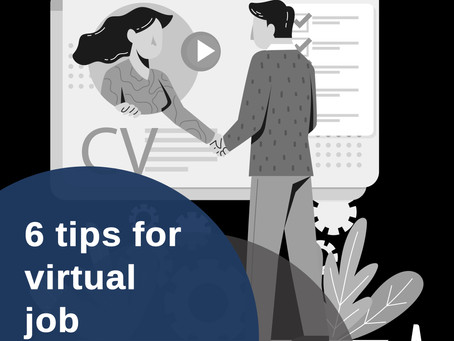 6 Tips for Virtual Job Interview