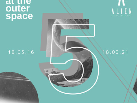 #5YearsOfALIENDC: Our Fifth Year At The Outer Space