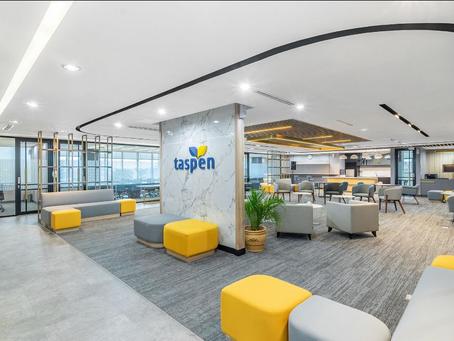 Completed Project: Taspen Office, Jakarta